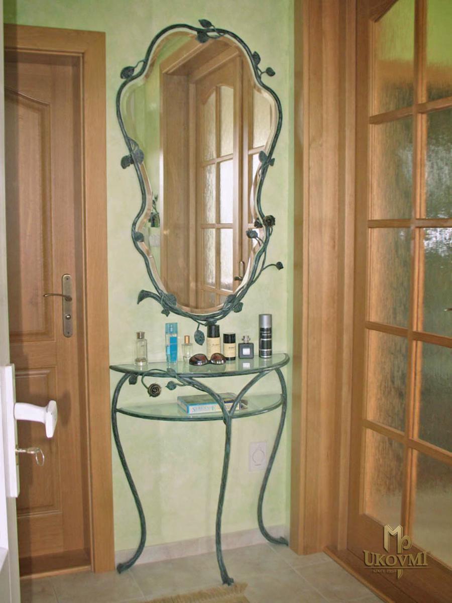 Einfamilienhaus vi kunstschmiede ukovmi - Rustikaler spiegel ...