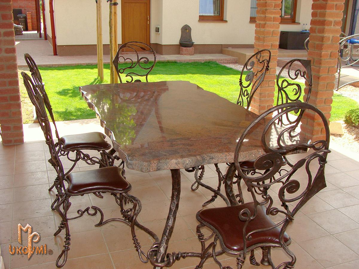 Chaises Et Tables Ferronnerie D Art Ukovmi