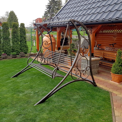Luxury garden swing for relaxation and comfort – garden furniture