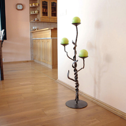 A wrought iron candleholder - luxury candleholders