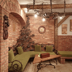 Comprehensive designs for cottages and wine cellars - luxury furniture and lights