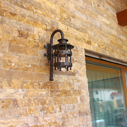 Forged wall light HISTORICAL on the terrace – exterior lighting in high quality