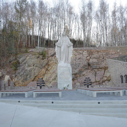 The youngest pilgrimage place in Slovakia located in the mountain Butkov...