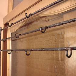 Wrought iron hangers