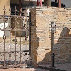Garden pole lighting CLASSIC M - wrought iron lighting made for a driveway, garden, yard or parks