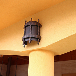 Exterior lampshade HISTORICAL – gentle side lighting of the terrace