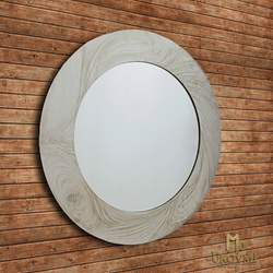 A stainless steel mirror - a luxury mirror