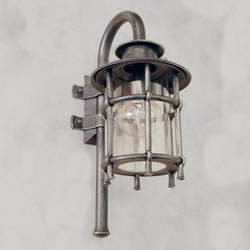 A wrought iron wall light Classic/T - exclusive lamps