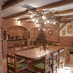 Luxury furniture and lights - comprehensive designs for cottages and wine cellars