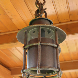 A ceiling light for a summer house