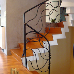 A wrought iron railing - Feel the breeze