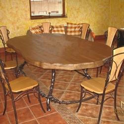 tische und stühle | kunstschmiede ukovmi, Esszimmer dekoo
