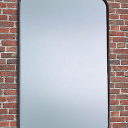 A simple mirror with wrought-iron frame - wrought-iron furniture